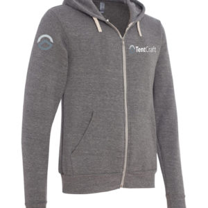 Unisex Full-Zip Sweatshirt