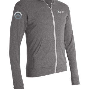 Unisex Full Zip Lt Weight Shirt