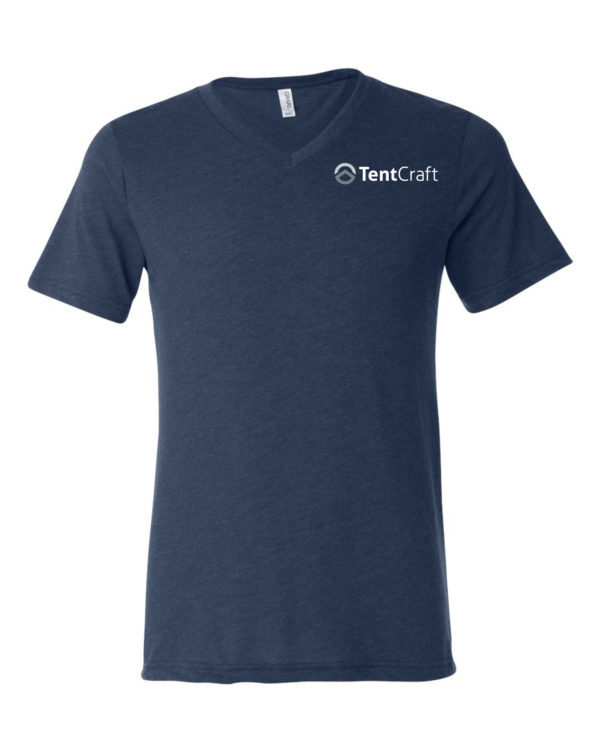 Unisex Short Sleeve V-Neck Tee