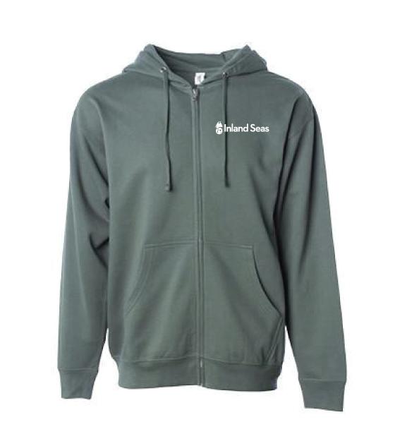 Adult Full Zip Sweatshirt - Standard Logo