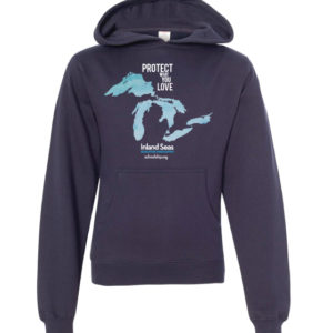 "Youth ""Protect What You Love"" Hooded Sweatshirt"