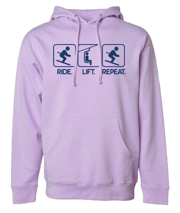 ride lift repeat lavender